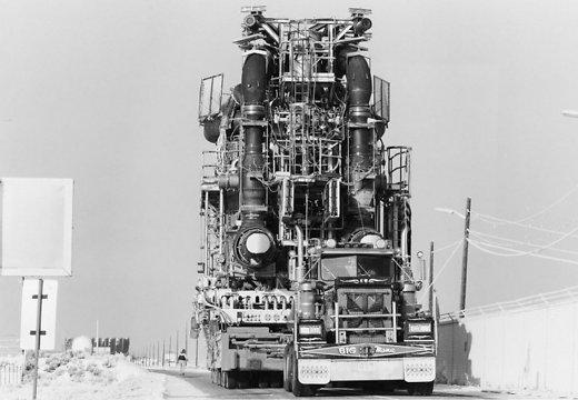 Ракеты, самолеты, нефтяные вышки: как перевозят гигантские грузы (ФОТО)