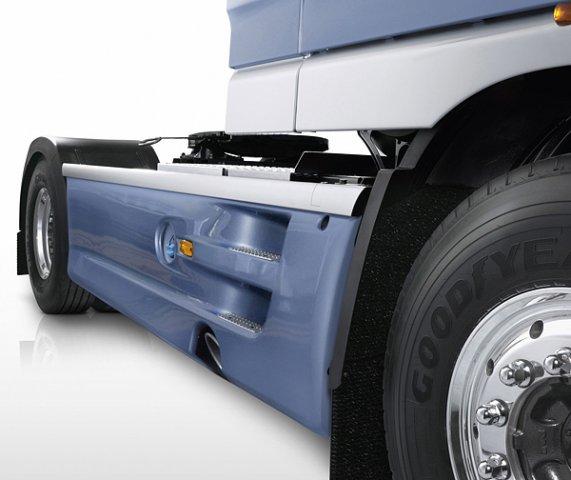 Межосевые спойлера для грузовых автомобилей DAF